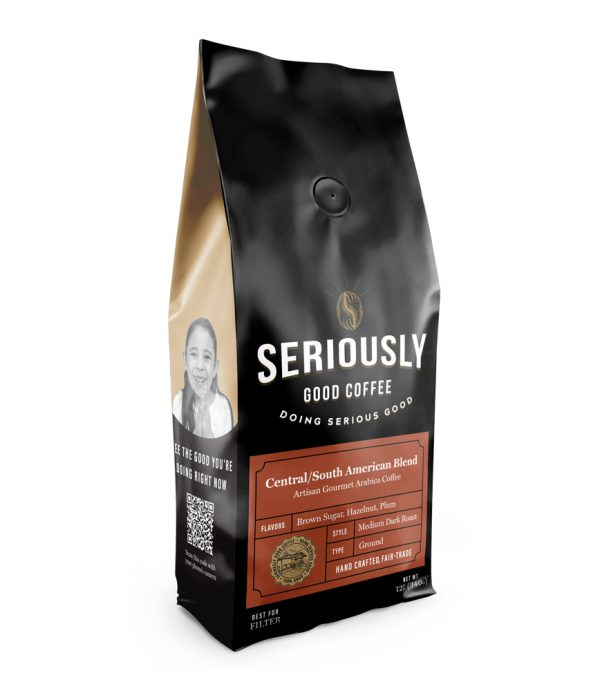 Ground Central/South American Blend Coffee