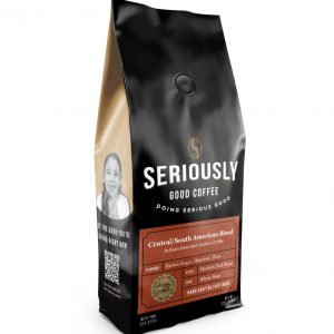 Whole Bean Central/South American Blend Coffee